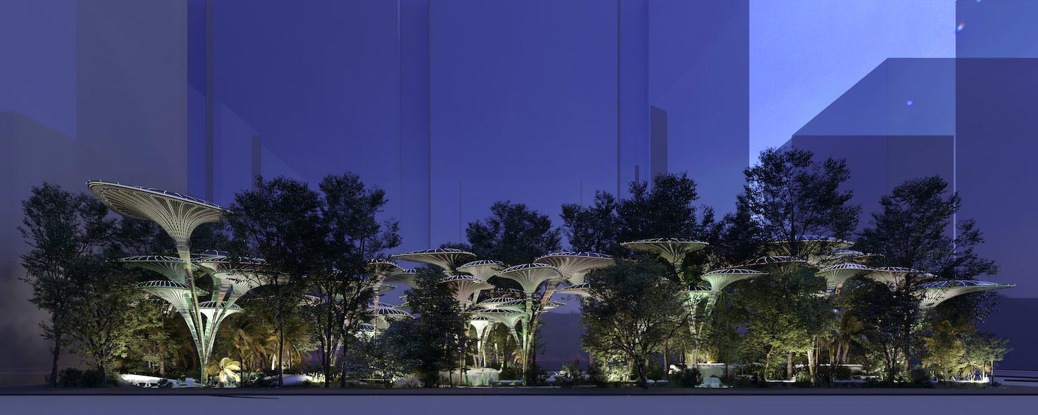 Oasys+Systems designed by Mask Architects for Cool Challenge Abu Dhabi